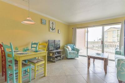Galveston Condo/Townhouse For Sale: 6300 Seawall Boulevard #6108