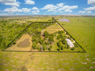 Fort Bend County Farm & Ranch For Sale: 32425 Rogers Road