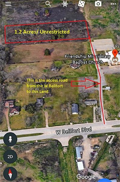 Sugar Land Residential Lots & Land For Sale: W Bellfort