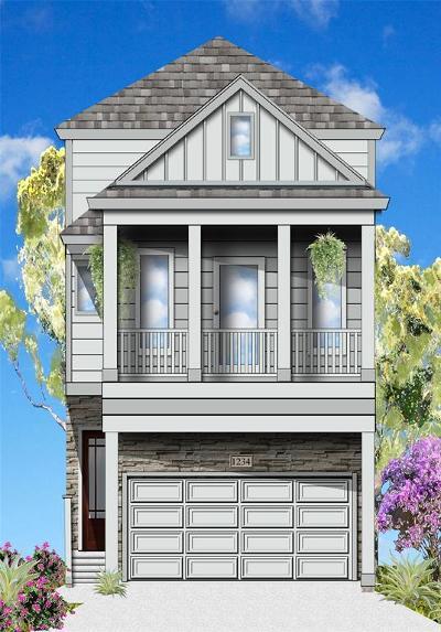 Houston Single Family Home For Sale: 1511 A Crockett Street