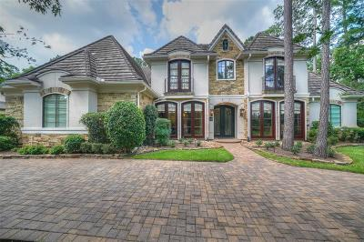 The Woodlands Single Family Home For Sale: 14 N Palmiera Circle