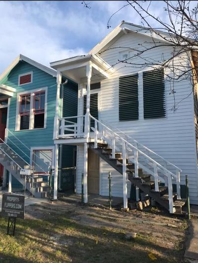 Galveston Single Family Home For Sale: 1015 Sealy Street