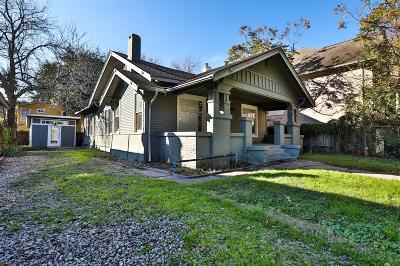 Montrose Single Family Home For Sale: 2606 Hopkins Street