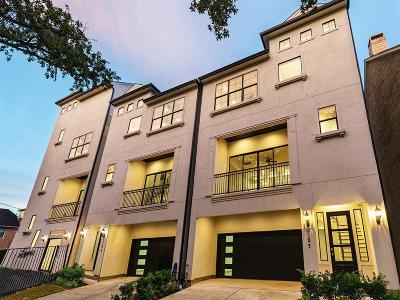 Houston Single Family Home For Sale: 2157 Yupon Street