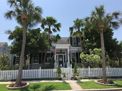 Galveston Single Family Home For Sale: 1217 Market Street