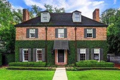 River Oaks Single Family Home For Sale: 2129 Del Monte Drive