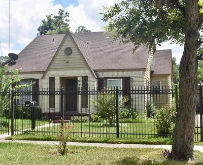 Houston Single Family Home For Sale: 7124 Garden Street