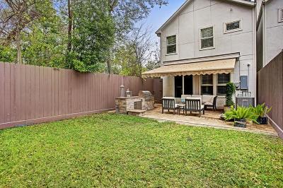 Houston TX Single Family Home For Sale: $795,000