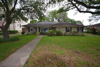 Houston Single Family Home For Sale: 3118 Blue Bonnet Boulevard