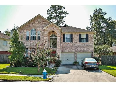 Kingwood Single Family Home For Sale: 21859 Whispering Forest Drive