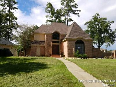 Tomball Single Family Home For Sale: 8902 Sedgemoor Drive