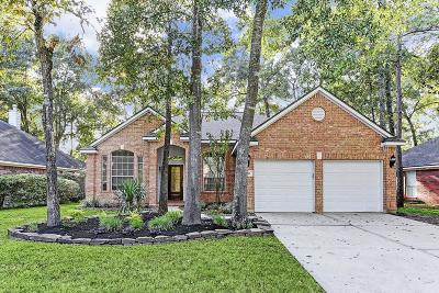 The Woodlands Single Family Home For Sale: 130 S Hollylaurel Circle