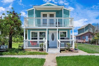 Galveston Single Family Home For Sale: 5616 Avenue M