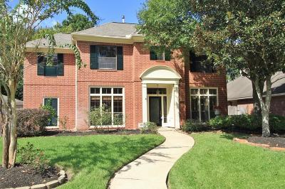 Kingwood Single Family Home For Sale: 5223 Wild Blackberry Drive