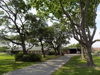 Highlands Single Family Home For Sale: 1817 Barbers Hill Road