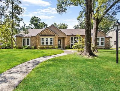 Seabrook Single Family Home For Sale: 4014 Highknoll Lane