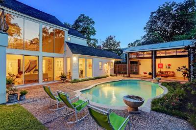 River Oaks Single Family Home For Sale: 3032 San Felipe Street