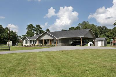 New Waverly Single Family Home Pending: 17160 Rogers Road