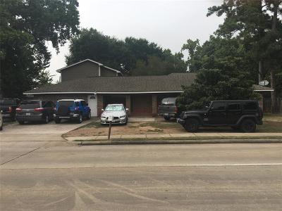 Houston Single Family Home For Sale: 9222 Hammerly Boulevard