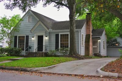 Houston Single Family Home For Sale: 2320 Bartlett Street