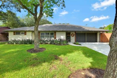 Houston Single Family Home For Sale: 8010 Mullins Drive