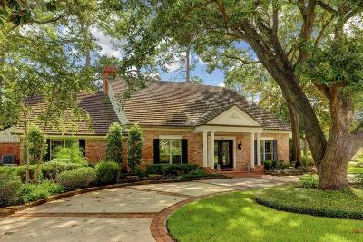 Houston Single Family Home For Sale: 6035 Coral Ridge Road
