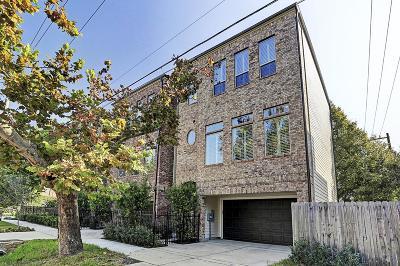 Houston Single Family Home For Sale: 412 Roy Street