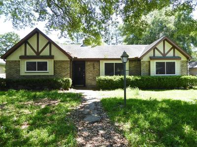 Tomball Single Family Home For Sale: 15514 Canterbury Forest Drive
