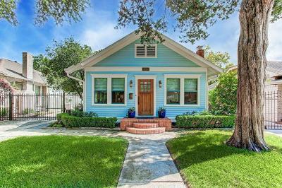Houston Single Family Home For Sale: 1024 Merrill Street