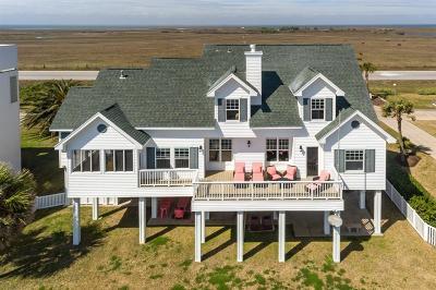 Galveston Single Family Home For Sale: 19523 Shores Drive
