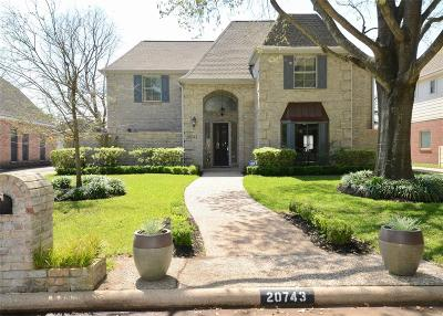 Katy TX Single Family Home For Sale: $322,875