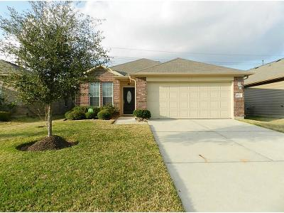 Tomball Single Family Home For Sale: 10822 Harston