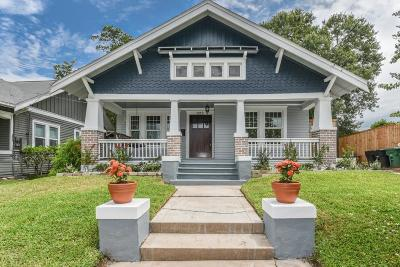 Houston Single Family Home For Sale: 1212 Wrightwood Street