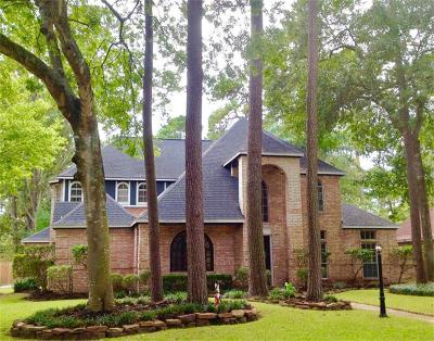 Spring Single Family Home For Sale: 18107 Trace Forest