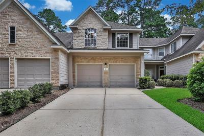 The Woodlands Condo/Townhouse For Sale: 115 E Greenhill Terrace Place
