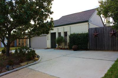 Houston Single Family Home For Sale: 1206 Forest Home Drive