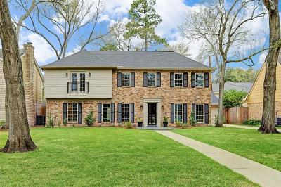 Houston Single Family Home For Sale: 511 Nottingham Oaks Trail