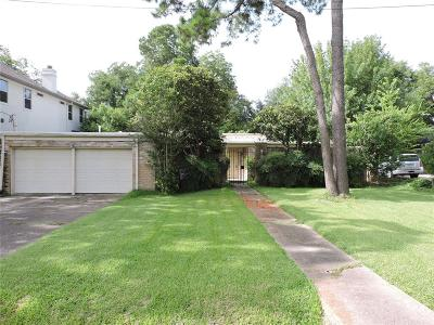 Houston Single Family Home For Sale: 9213 Hilldale Street
