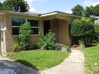 Houston Single Family Home For Sale: 5207 Jewel Street