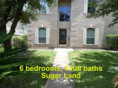 Sugar Land Single Family Home For Sale: 3103 Aspen Hollow Lane