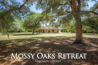 New Ulm Country Home/Acreage For Sale: 1069 Mossy Oaks Lane Lane