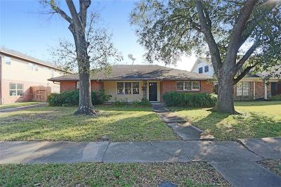 Houston Single Family Home For Sale: 3519 Drexel Drive