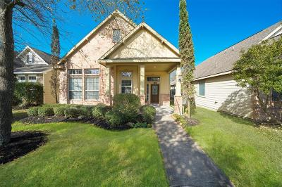 The Woodlands Single Family Home For Sale: 54 Panterra Way