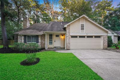 The Woodlands Single Family Home For Sale: 12 Edgewood Forest Court