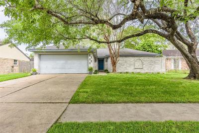 Houston TX Single Family Home For Sale: $215,000