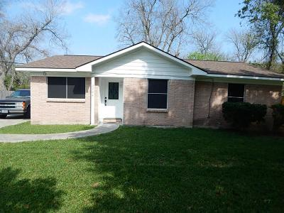 Baytown TX Single Family Home For Sale: $119,000