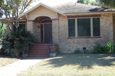 Single Family Home For Sale: 4501 Avenue N 1/2