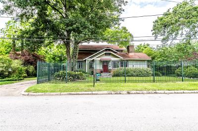Houston Single Family Home For Sale: 4019 River Drive