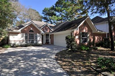 The Woodlands Single Family Home For Sale: 30 Lamps Glow