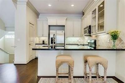 Houston Condo/Townhouse For Sale: 953 Yale Street #B